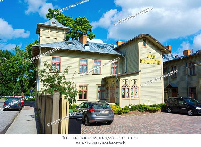 Villa Margaretha, hotel accommodation, Karlova, Tartu, Estonia, Baltic States, Europe