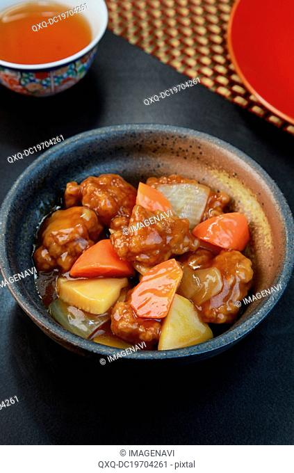 Sweet and sour pork (Subuta)