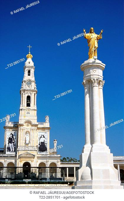 Fatima (Portugal). Sacred Heart of Jesus in the Shrine of Our Lady of the Rosary of Fatima (better known as Sanctuary of Fatima)