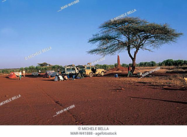 camp, el sod, ethiopia