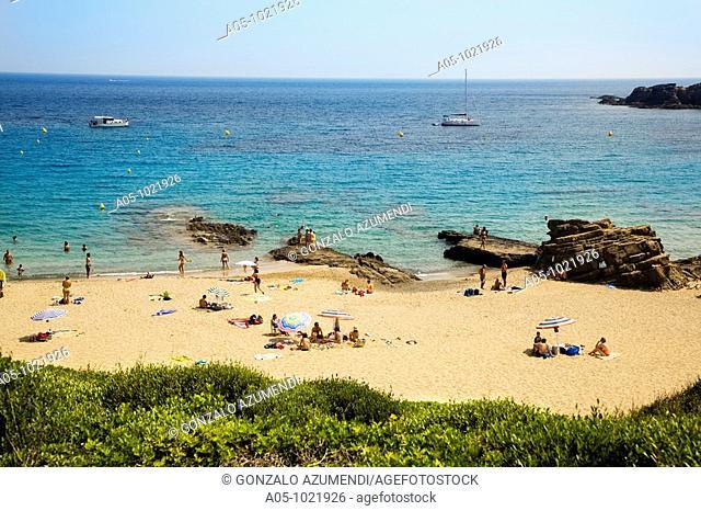 Cala Mesquida beach, Minorca, Balearic Islands, Spain