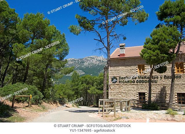 The Information Centre at the Sierra Espuna Regional Park Murcia South Eastern Spain