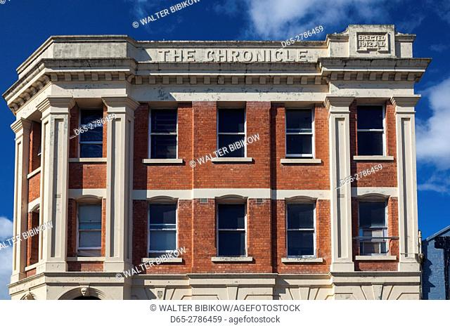 New Zealand, North Island, Wanganui, The Chronicle Building