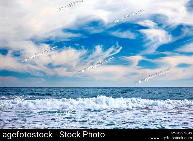 seascape in Vina del Mar, Chile