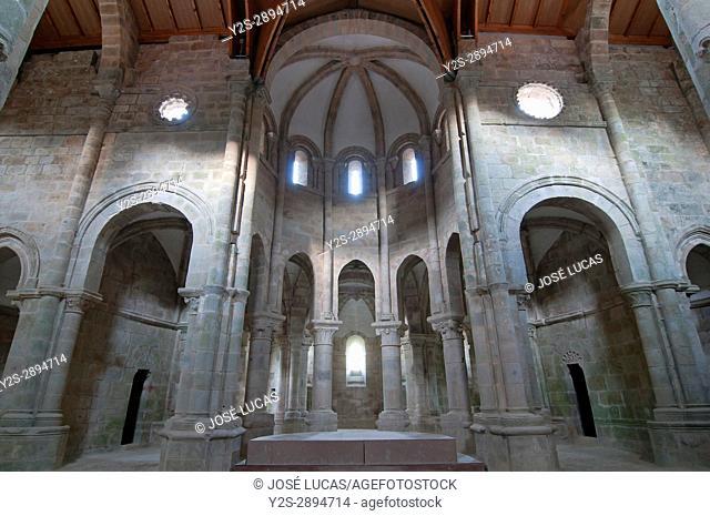 Monastery of San Lorenzo - 10th century, Carboeiro, Pontevedra province, Region of Galicia, Spain, Europe