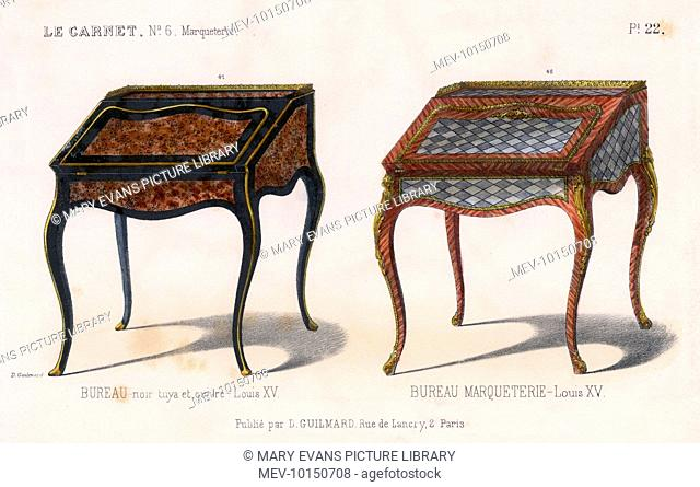 Louis xv style wood stock photos and images age fotostock