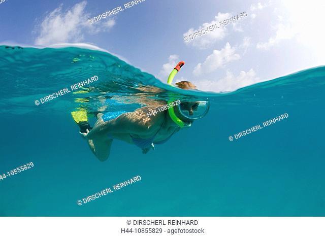 10855829, Snorkeling, turquoise Lagoon, Marshall I