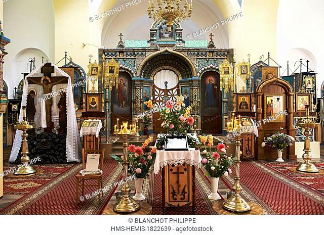 Poland, Podlaskie, Bialowieza, Saint Nicholas Orthodox Church