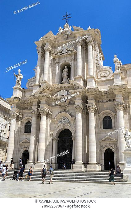 Cathedral of Syracuse, Syracuse, Sicily, Italy
