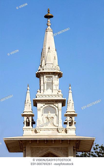 gangar singh monument in city of Bikaner rajasthan state in india