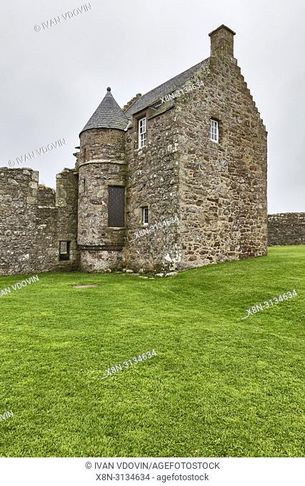 Dunnottar castle, Kincardineshire, Scotland, UK