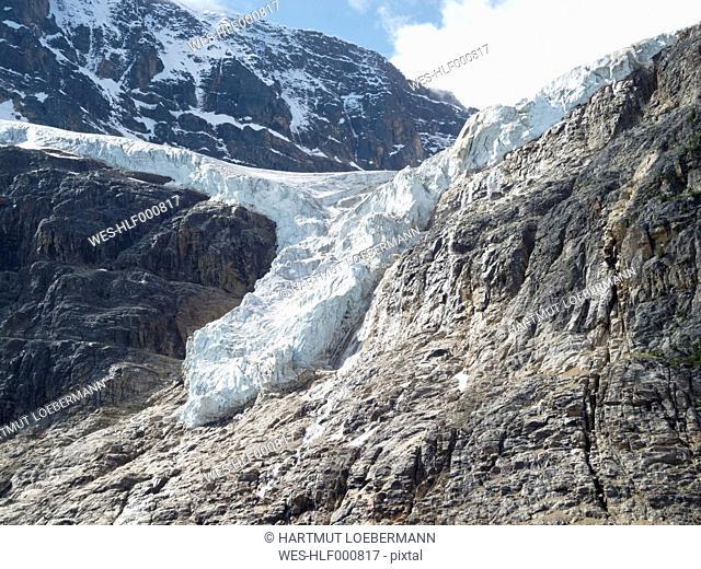 Canada, Alberta, Jasper National Park, Mountain Edith Cavell, Angel Glacier