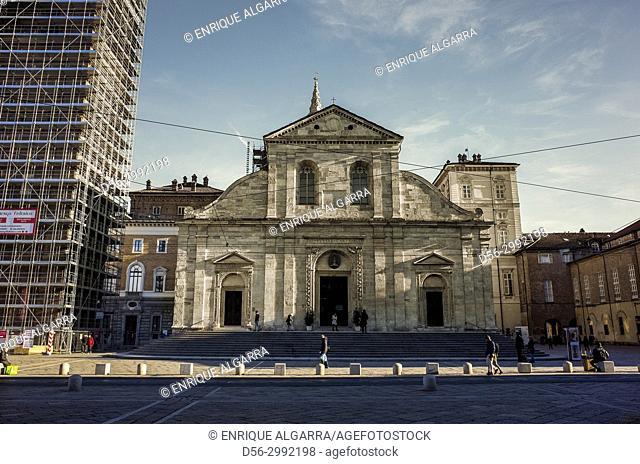 The Cathedral of Torino, Italy. The Duomo di Torino
