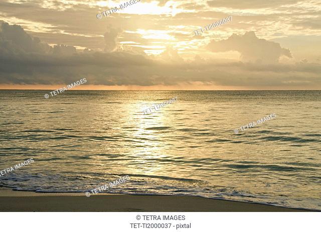 Mexico, Playa Del Carmen, seascape