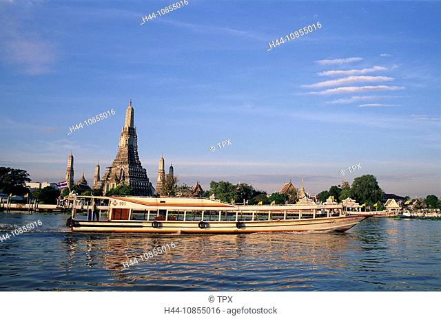 10855016, Asia, Thailand, Bangkok, Wat Arun, Templ
