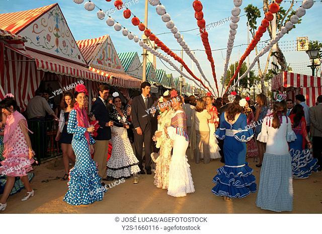 The April Fair, Seville, Spain