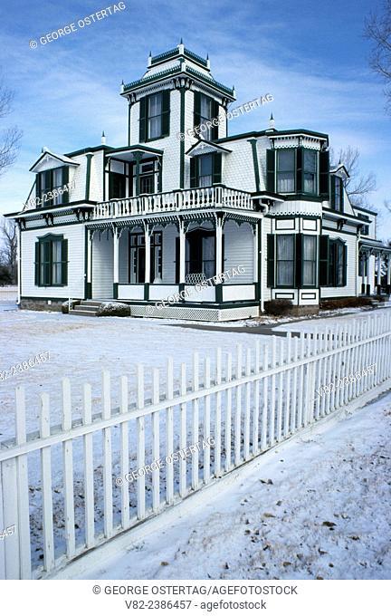 Ranch house, Buffalo Bill Ranch State Historic Park, Nebraska