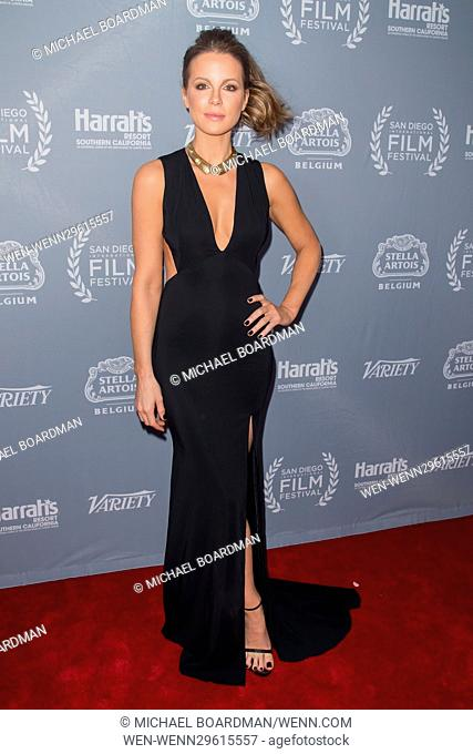 San Diego International Film Festival - Variety's Night of the Stars Tribute - Arrivals Featuring: Kate Beckinsale Where: San Diego , California