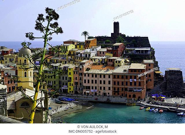 Italy, Liguria, Vernazza