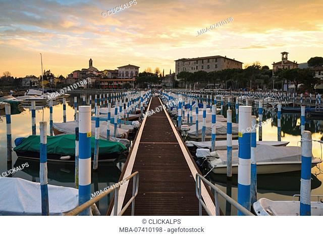 Clusane d'Iseo, Iseo lake, Brescia province, Lombardy, Italy, Europe