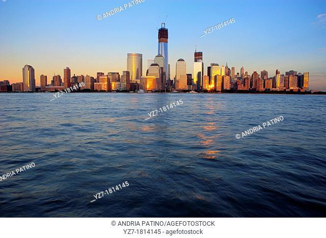 Construction at the World Trade Center, New York, New York, USA