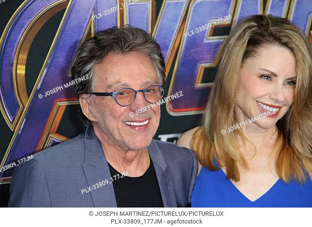 """Frankie Valli at The World Premiere of Marvel Studios' """"""""Avengers: Endgame"""""""" held at the Los Angeles Convention Center, Los Angeles, CA, April 22, 2019"""
