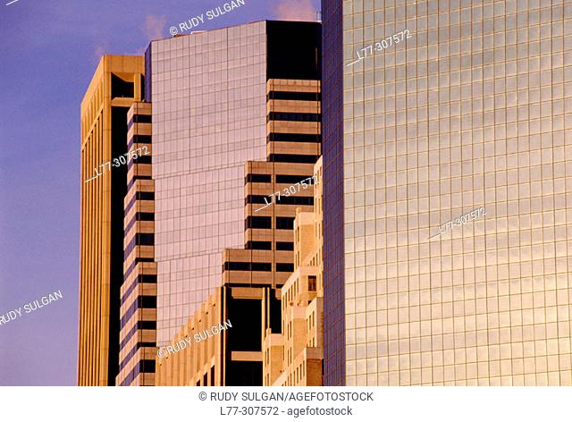 Corporate architecture in New York City, USA