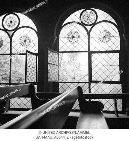 Kapelle im Schwarzwald, Deutschland 1930er Jahre. Chapel at Black Forest region, Germany 1930s