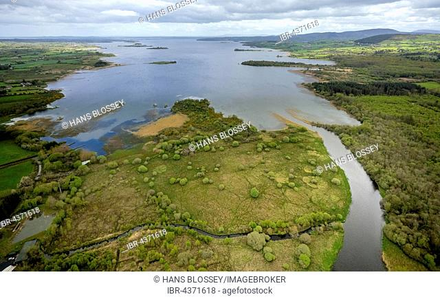 Lough Derg Lake in Scarriff, River Shannon, County Clare, Ireland
