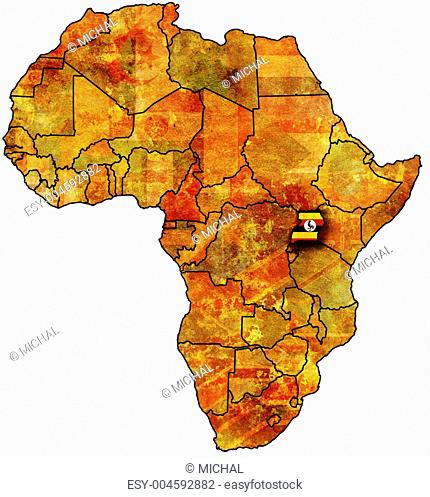 uganda old map