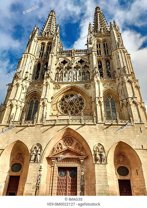 Burgos cathedral, Burgos, Castile and Leon, Spain