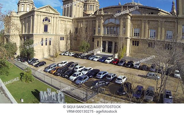 Museu Nacional d'Art de Catalunya. Barcelona, Spain