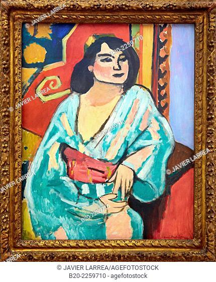 Lçlgérienne, printemps 1909. Henri Matisse. Centre George Pompidou. Musee National d'Art Moderne. Paris. France