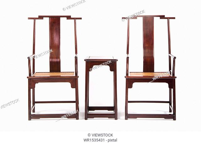 Chinese table and chair