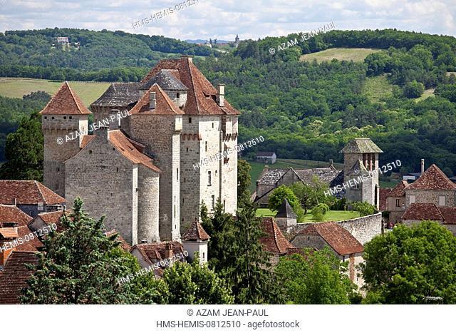 France, Correze, Curemonte, labelled Les Plus Beaux Villages de France (the Most Beautiful Villages of France)