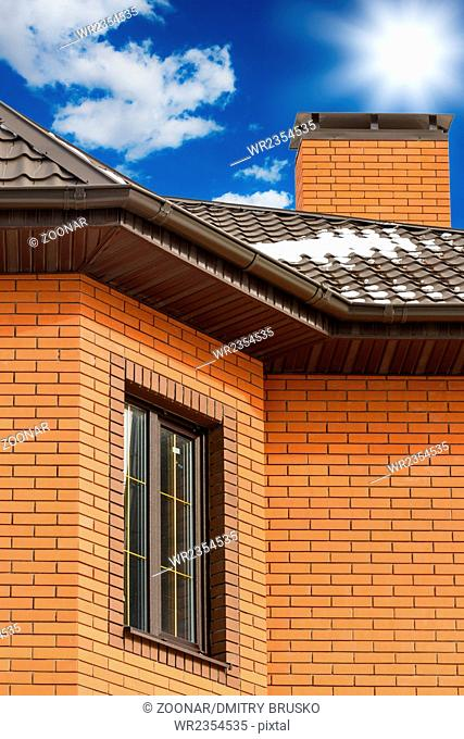 pipe on the roof