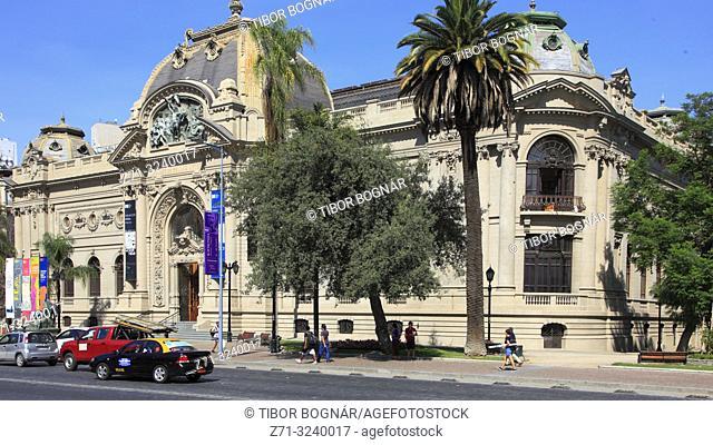Chile, Santiago, Museo Nacional de Bellas Artes, Fine Arts Museum,