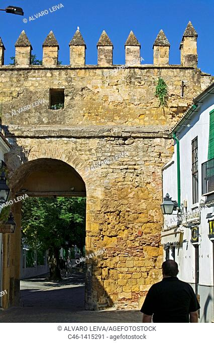 Almodóvar gate  Córdoba  Andalucía  Spain
