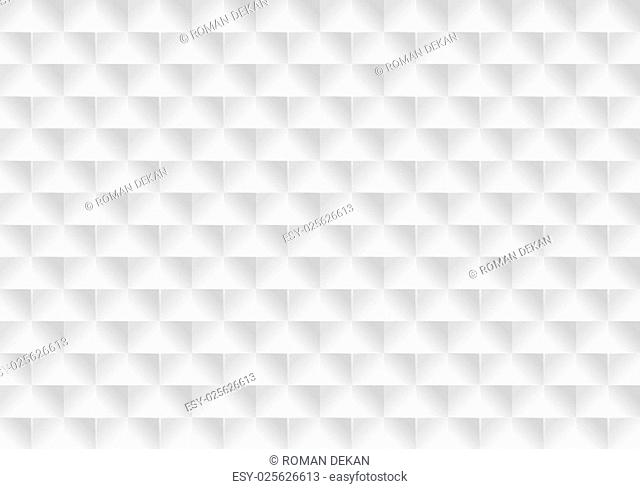 Squared Seamless Texture - Geometrical Background Illustration, Vector