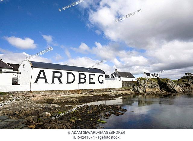 Ardbeg Distillery, Isle of Islay, Inner Hebrides, Scotland, United Kingdom
