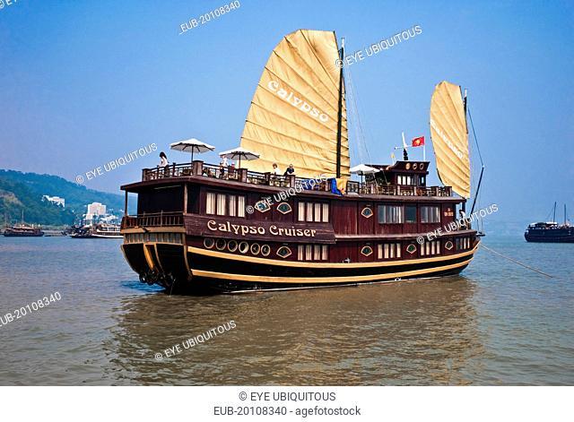 Gulf of Tonkin Cruise Ship in the Ha Long Bay