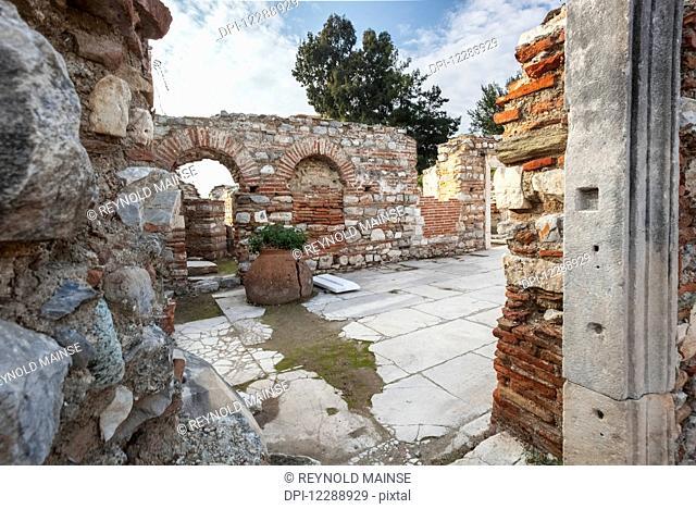 Saint John's Basilica; Ephesus, Turkey