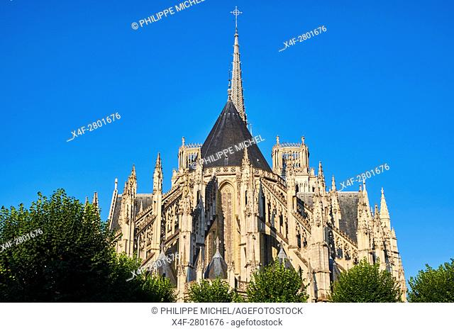 France, Loiret, Orleans, Sainte-Croix cathedral