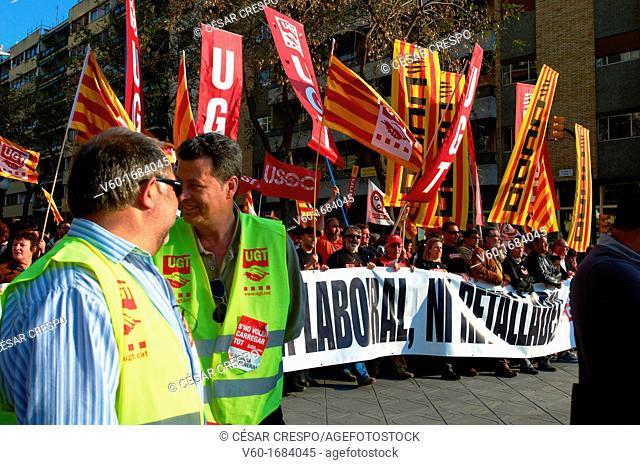 -Demonstrations against Cuts- Tarragona Spain