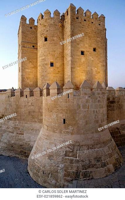 Calahorra Tower on the Roman Bridge in Cordoba