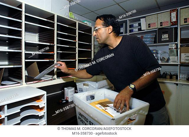 Mailroom sorting