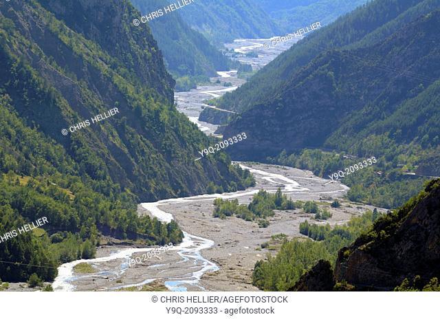 River Var & Daluis Gorge Alpes-Maritimes France