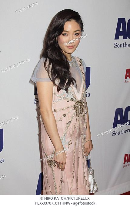 Constance Wu 11/11/2018 The ACLU SoCal's Annual Bill of Rights Dinner held at The Beverly Wilshire Hotel in Beverly Hills