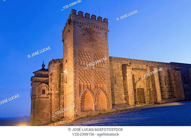 Priory Church of the Castle-15th century, Aracena, Huelva province, Region of Andalusia, Spain, Europe