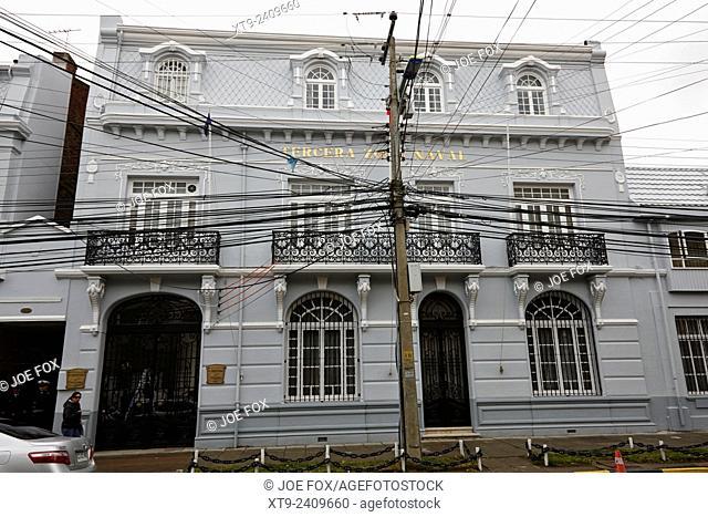 tercera zona naval Punta Arenas Chile